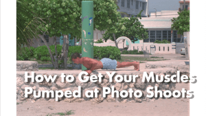 How to Properly Flex Muscle for a Photo Shoot